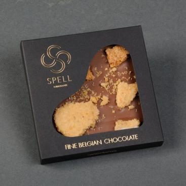 Belgian Chocolate Salted Caramel with cobnut