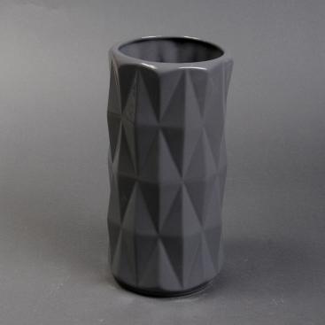 Ваза керамика Перун серая