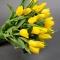 Букет из 21 желтого тюльпана - Фото 3