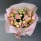 Букет эустом и роз - Фото 3