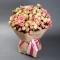 Букет 55 роз спрей Грация и Елена - Фото 3
