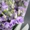 Букет фиолетовых эустом - Фото 6