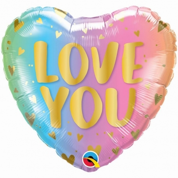 Шар Сердце I love you 46 см