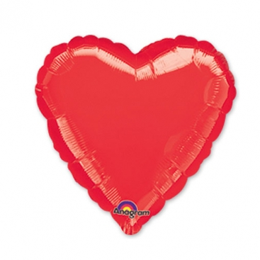 Balloon Heart red 46 cm