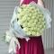 Букет из 51 розы Аваланч Премиум - Фото 1