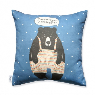Pillow blue Bear
