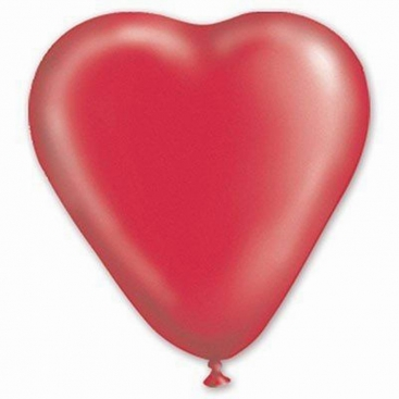 Balloon Heart red 30 сm
