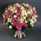 Букет из 51 розы Сноу Ворлд и Мисти Бабблз - Фото 1
