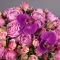 Композиция с розами Мисти Бабблз - Фото 7