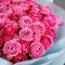 Букет 21 роза Рич Бабблз и Мисти Бабблз стандарт - Фото 4