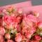 Букет из роз Фуксия - Фото 5