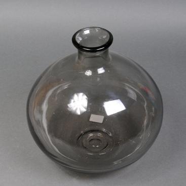 Ваза бутылка черная 37см