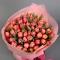 Букет из розовых тюльпанов Розе Блаш - Фото 4
