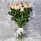 Букет из 25 роз Пинк Мондиаль - Фото 1