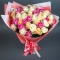 Букет из 51 розы Фантазия - Фото 2