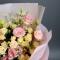 Букет эустом и роз - Фото 4