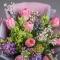 Букет с тюльпанами и гиацинтом - Фото 4