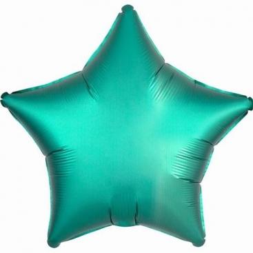 Шар Звезда изумрудная 46 см