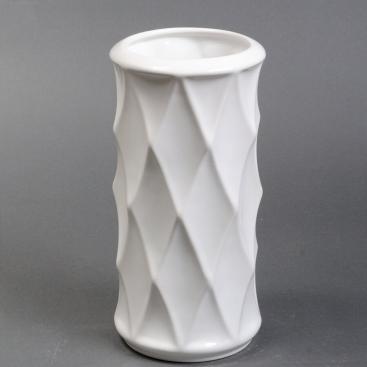 Ваза керамика Велес белая