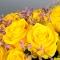 Композиция с розой Пенни Лэйн - Фото 6