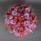 Шляпная коробка с розой и эустомой - Фото 4