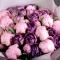 Букет тюльпанов и пионов Сливовый сад - Фото 5