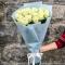 Букет из 25 роз Аваланч - Фото 1