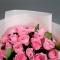 Букет из 25 роз Майрас Пинк - Фото 4