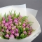 Букет тюльпанов Лаванда - Фото 1