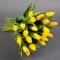 Букет из 21 желтого тюльпана - Фото 1