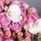 Композиция с розами Мисти Бабблз - Фото 8
