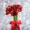 Букет из красных амариллисов - Фото 4