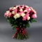 Букет из 101 розы микс - Фото 2