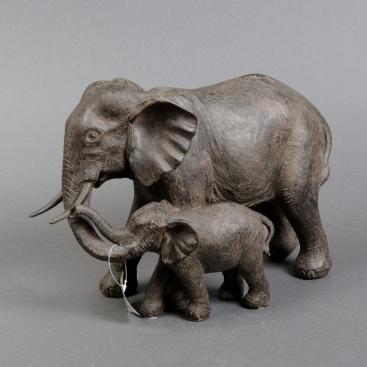Фигурка Семья слонов