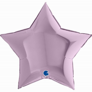 Шар Звезда лиловая 80 см