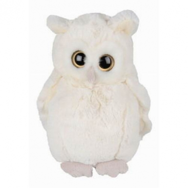 Owl Clever Blanca, 20 cm