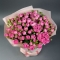 Bouquet of 25 Misty Bubbles Roses  - Photo 2