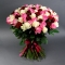 Букет из 101 розы микс - Фото 1