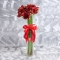 Букет из красных амариллисов - Фото 2