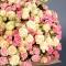 Букет 55 роз спрей Грация и Елена - Фото 4
