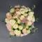 Букет невесты с пионовидной розой и гвоздикой - Фото 4