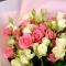 Букет із 25 троянд Грація і Сноу Флейк - Фото 4
