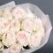 Букет 29 роз Уайт Охара - Фото 5