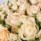 Букет из 51 розы Пич Аваланч и Елена спрей - Фото 4