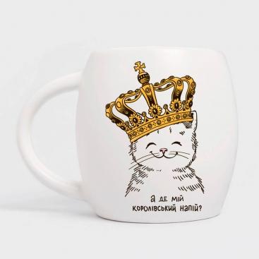 Чашка Котенок в короне