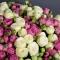Букет из 51 розы Сноу Ворлд и Мисти Бабблз - Фото 3