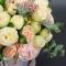Букет невесты с пионовидной розой Нежность - Фото 6