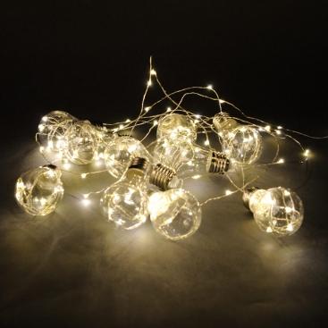 Гирлянда 10 лампочек