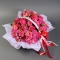 Корзинка с пионовидными розами спрей - Фото 3