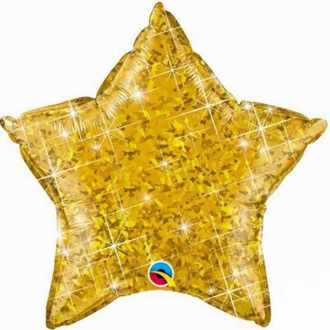 Balloon Star gold 51 сm